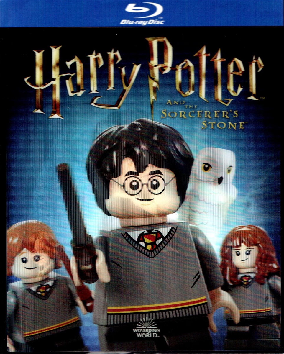 Harry Potter and the Sorcerer's Stone w/ LEGO Lenticular Slip (Exclusive)