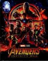 Avengers: Infinity War 3D Full Slip SteelBook (Blufans #50)(China)