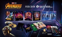 Avengers: Infinity War 3D Double Lenticular SteelBook (Blufans #50)(China)