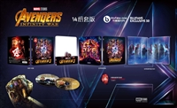 Avengers: Infinity War 3D 1/4 Slip SteelBook (Blufans #50)(China)