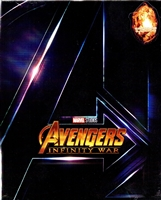 Avengers: Infinity War 3D 1-Click SteelBook (Blufans #50)(China)