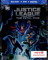 Justice League Vs the Fatal Five SteelBook (BD/DVD + Digital Copy)(Exclusive)