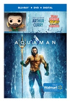 Aquaman w/ Funko POP! Keychain (BD/DVD + Digital Copy)(Exclusive)