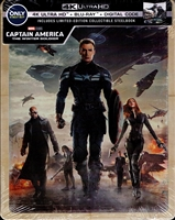Captain America: The Winter Soldier 4K SteelBook (BD + Digital Copy)(Exclusive)