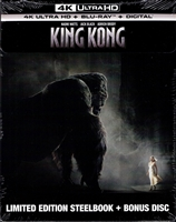 King Kong 4K: Ultimate Edition SteelBook (2005)(BD + Digital Copy)(Exclusive)