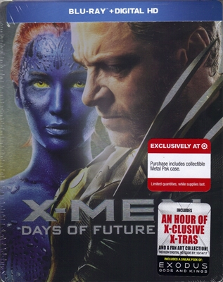 X-Men: Days of Future Past MetalPak (BD+Digital Copy)(Exclusive)