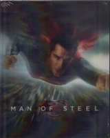 Man of Steel 3D Lenticular SteelBook (Hong Kong)
