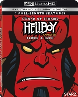 Hellboy Animated 4K: Sword of Storms / Blood and Iron (BD + Digital Copy)