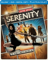 Serenity SteelBook (2005)(BD/DVD + Digital Copy)