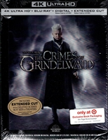 Fantastic Beasts: The Crimes of Grindelwald 4K DigiBook (BD + Digital Copy)(Exclusive)