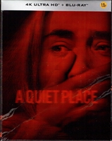 A Quiet Place 4K Lenticular SteelBook (Korea)