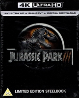 Jurassic Park III 4K SteelBook (BD + Digital Copy)(UK)