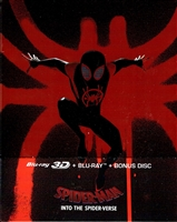 Spider-Man: Into the Spider-Verse 3D SteelBook (Version #3)(Czech)