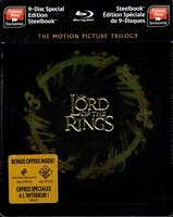 The Lord of the Rings: Motion Picture Trilogy SteelBook (Canada)