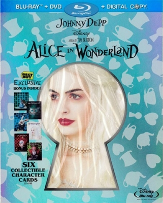 Alice in Wonderland w/ Art Cards (BD/DVD + Digital Copy)(Exclusive)