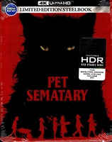 Pet Sematary 4K SteelBook (2019)(BD + Digital Copy)(Exclusive)