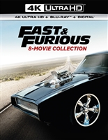 Fast and Furious 8-Movie 4K DigiBook Collection (BD + Digital Copy)