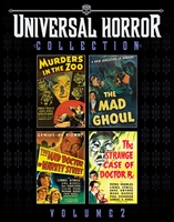 The Universal Horror Collection: Volume 2 - Murders in the Zoo / The Mad Ghoul / The Mad Doctor of Market Street / The Strange Case of Doctor Rx