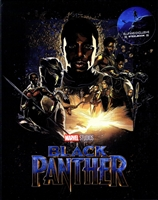 Black Panther 3D Full Slip SteelBook (Blufans #48)(China)