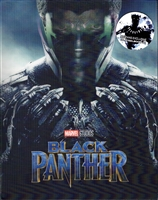 Black Panther 3D Lenticular SteelBook (Blufans #48)(China)