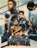 Black Panther 3D Double Lenticular SteelBook (Blufans #48)(China)