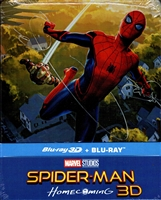 Spider-Man: Homecoming 3D SteelBook (Czech)