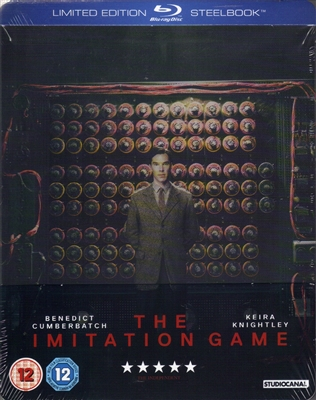 The Imitation Game SteelBook (UK)