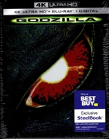Godzilla 4K SteelBook (1998)(BD + Digital Copy)(Exclusive)