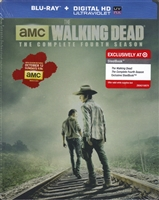 The Walking Dead: Season 4 SteelBook (BD + Digital Copy)(Exclusive)