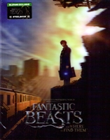 Fantastic Beasts and Where to Find Them 4K Double Lenticular SteelBook (China)(Blufans #39)