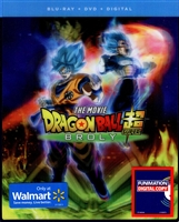 Dragon Ball Super: Broly w/ Lenticular Slip (BD/DVD + Digital Copy)(Exclusive)