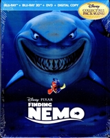 Finding Nemo 3D Viva Metal Case (BD/DVD + Digital Copy)(Canada)