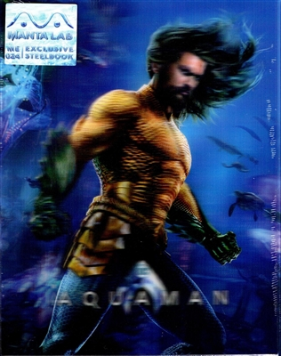 Aquaman 3D Double Lenticular SteelBook (Hong Kong)