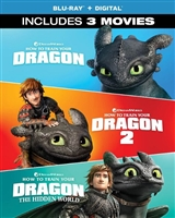 How to Train Your Dragon 3-Movie Collection (BD + Digital Copy)