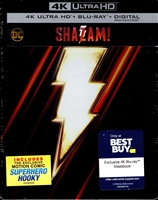 Shazam! 4K SteelBook (BD + Digital Copy)(Exclusive)