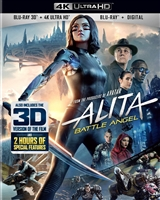 Alita: Battle Angel 3D & 4K (BD + Digital Copy)