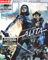 Alita: Battle Angel w/ USB Charging Wristband (BD/DVD + Digital Copy)(Exclusive)