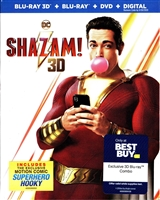 Shazam! 3D (BD/DVD + Digital Copy)