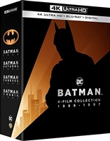 Batman 4K Collection: Batman / Batman Returns / Batman Forever / Batman & Robin (BD + Digital Copy)(Exclusive)