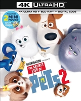 The Secret Life of Pets 2 4K (BD/DVD + Digital Copy)
