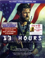 13 Hours: The Secret Soldiers of Benghazi w/ Book (BD/DVD + Digital Copy)(Exclusive)