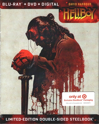Hellboy SteelBook (2019)(BD/DVD + Digital Copy)(Exclusive)