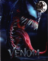 Venom 4K Double Lenticular SteelBook (2018)(Blufans #52)(China)