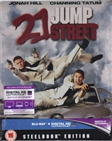 21 Jump Street SteelBook (BD + Digital Copy)(UK)
