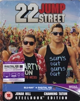 22 Jump Street SteelBook (BD + Digital Copy)(UK)
