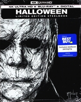 Halloween 4K SteelBook (2018)(BD + Digital Copy)(Re-release)(Exclusive)