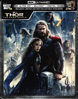 Thor: The Dark World 4K SteelBook (BD + Digital Copy)(Exclusive)