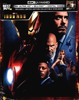 Iron Man 4K SteelBook (BD + Digital Copy)(Exclusive)