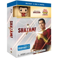 Shazam! w/ Funko Pop! (BD/DVD + Digital Copy)(Exclusive)