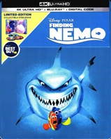 Finding Nemo 4K SteelBook (BD + Digital Copy)(Exclusive)
